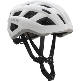 Cube Roadrace Bike Helmet grey/white
